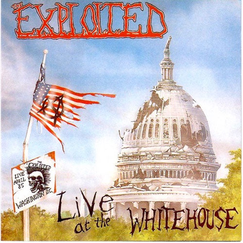 "The Exploited ""Live At The Whitehouse"" LP"