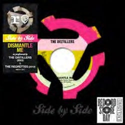 "The Distillers / The Regrettes ""Dismantle Me"" 7"""