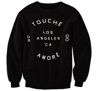 "Touche Amore ""Los Angeles"" Crewneck"