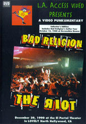 "Bad Religion ""Riot"" DVD"