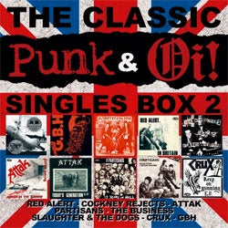 "Various Artists ""The Classic Punk and Oi! Singles Vol. 2"" 7"" Box Set"