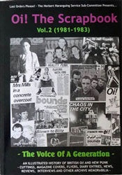 """Oi! The Scrapbook Vol. 2 (1981-1983)"" Book"