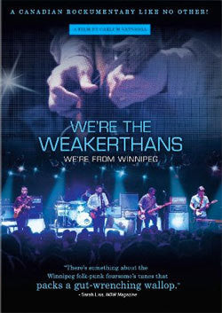 "The Weakerthans ""We're The Weakerthans"" DVD"