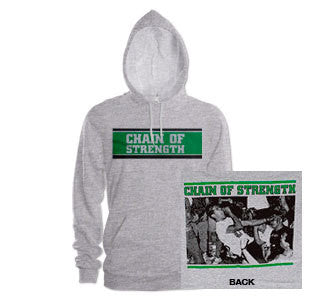 "Chain Of Strength ""The One Thing... Hooded Sweatshirt"
