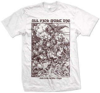 "All Pigs Must Die ""Feeble Breed"" T Shirt"