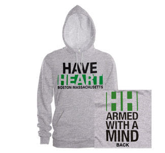 "Have Heart ""Armed With A Mind"" Hooded Sweatshirt"
