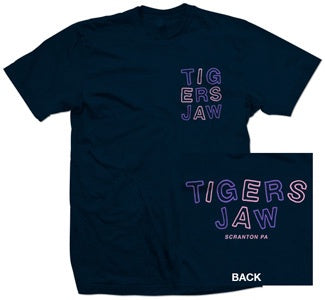 "Tigers Jaw ""Outlines"" T Shirt"