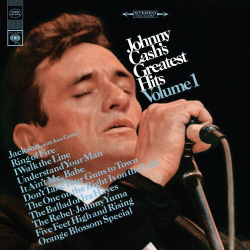 "Johnny Cash ""Greatest Hits: Volume 1"" LP"