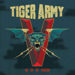 "Tiger Army ""V"" CD"