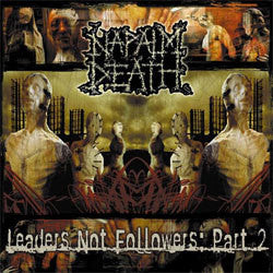 "Napalm Death ""Leaders Not Followers 2"" LP"