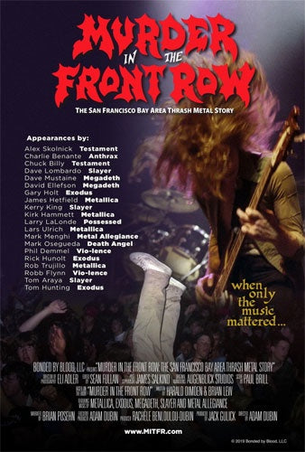 """Murder In The Front Row: The San Francisco Bay Thrash Metal Story"" DVD"