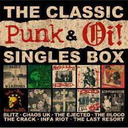 "Various Artists ""The Classic Punk and Oi! Singles"" 7"" Box Set"
