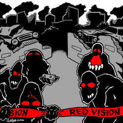 "Red Vision ""Self Titled"" 7"""