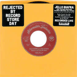 "Jello Biafra And The New Orleans Raunch And Soul Allstars ""Fannie Mae"" 7"""
