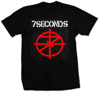 "7 Seconds ""Logo"" T Shirt"