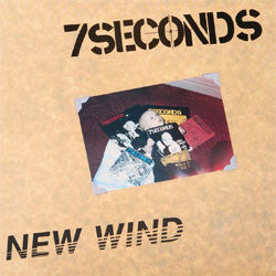 "7 Seconds ""New Wind"" LP"