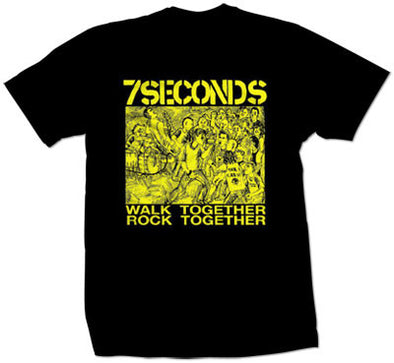 "7 Seconds ""Walk Together"" T Shirt"