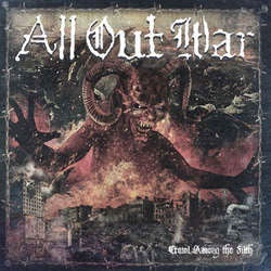 "All Out War ""Crawl Among The Filth"" LP"