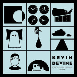 "Kevin Devine ""Live at St Pancras Old Church"" LP"