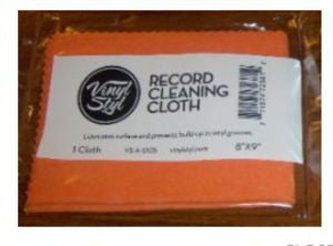 "Vinyl Styl ""Lubricated Cleaning Cloth"""