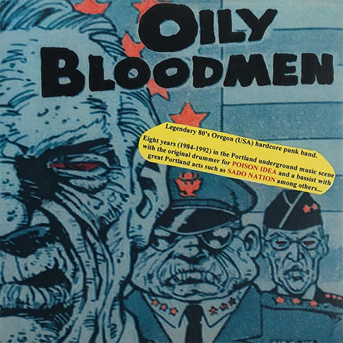 "Oily Bloodmen ‎""Hardcore Years Compilation"" 7"""