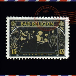 "Bad Religion ""Tested"" CD"