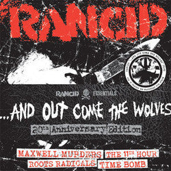 "Rancid ""...And Out Come The Wolves: 20th Anniversary Edition"" 7"" Pack"
