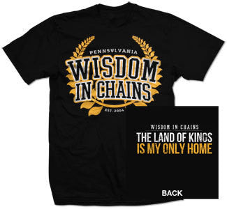 "Wisdom In Chains ""Land Of Kings"" T Shirt"