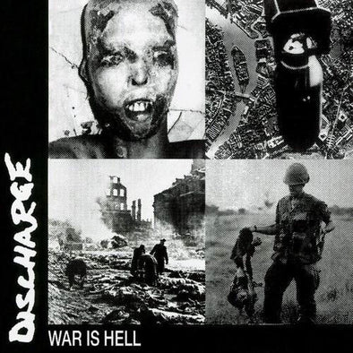 "Discharge ""War Is Hell - 2020 Reissue"" LP"