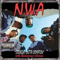 "N.W.A ""Straight Outta Compton: 20th Anniversary Edition"" 2xLP"
