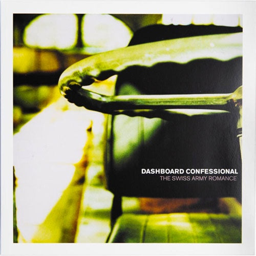 "Dashboard Confessional ""Swiss Army Romance"" LP"