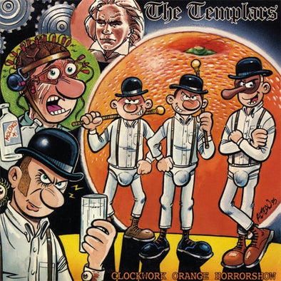 "The Templars ""Clockwork Orange Horror"" 12"""