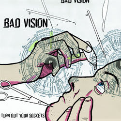 "Bad Vision ""Turn Out Your Sockets"" LP"