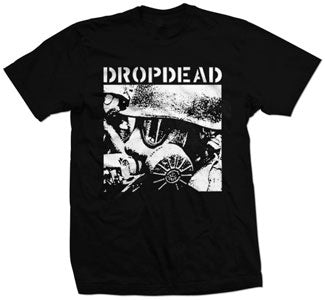 "Dropdead ""Gas Mask"" T Shirt"