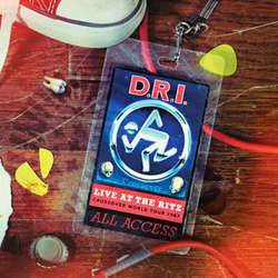 "D.R.I ""Live At The Ritz 1987"" CD"