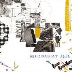 "Midnight Oil ""10,9,8,7,6,5,4,3,2,1"" LP"
