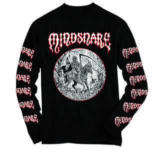 "Mindsnare ""Unholy Rush"" Long Sleeve T Shirt"
