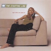 "The Starting Line ""Say It Like You Mean It"" 2xLP"