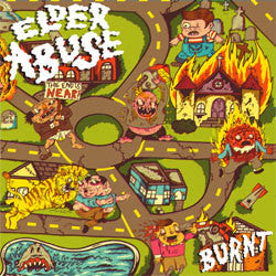 "Elder Abuse ""Burnt"" LP"