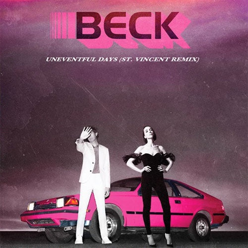 "Beck ""No Distraction / Uneventful Days (Remixes)"" 7"""