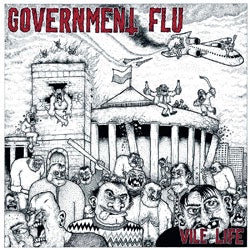 "Government Flu ""Vile Life"" LP"