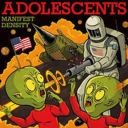 "Adolescents ""Manifest Destiny"" LP"
