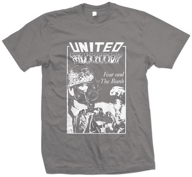 "United Mutation ""Fear And The Bomb"" T Shirt"