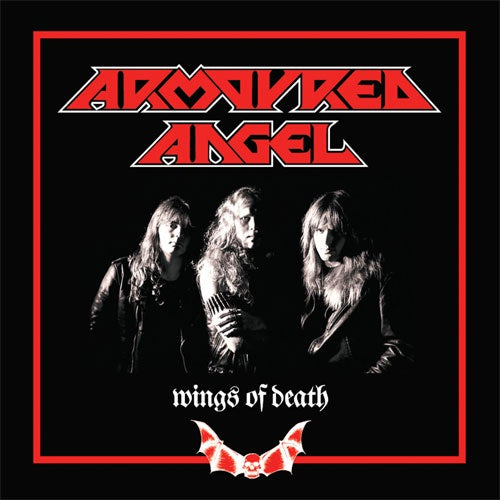 "Armoured Angel ""Wings Of Death"" LP"