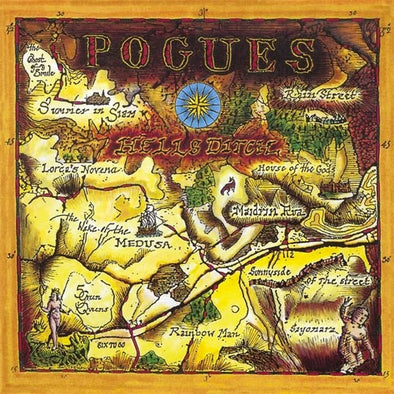 "The Pogues ""Hell's Ditch"" LP"