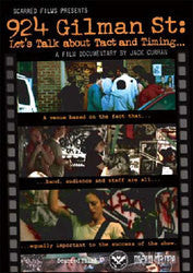 924 Gilman St:Lets Talk About Tact And Timing... DVD