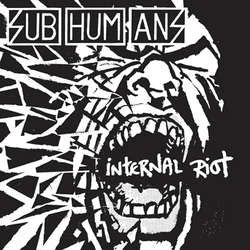 "Subhumans ""Internal Riot"" CD"