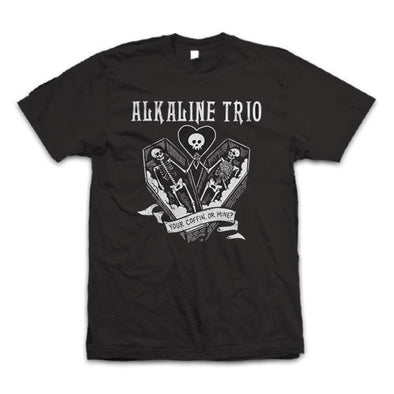 "Alkaline Trio ""Your Coffin"" T Shirt"