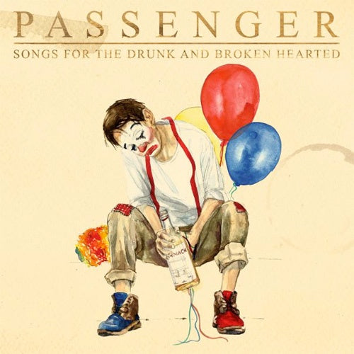 "Passenger ""Songs For The Drunk And Broken"" 2xLP"