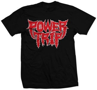 "Power Trip ""Front Spikey"" T Shirt"